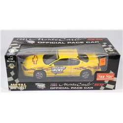 2001 MONTE CARLO SS PACE CAR DIECAST 1:18 SCALE