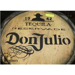 DON JULIO TEQUILA RESERVADE BARREL, 1942, LOGOED,