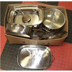 ESTATE CHAFFING DISHES AND ROASTING PANS
