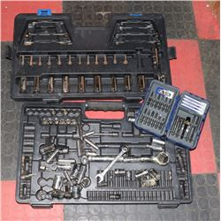 INCOMPLETE MASTERCRAFT SOCKET SET WITH
