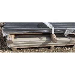PALLET OF JAMES HARDIE LIGHT GREY