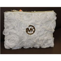 MICHAEL KORS REPLICA FLOWER PRINT PURSE WHITE