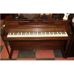 "KRANICH & BACH PIANO, 57"" WIDE"