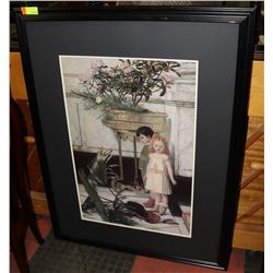 ESTATE FRAMED PICTURE NO GLASS