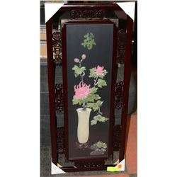 FRAMED 3D STYLE ORIENTAL PICTURE