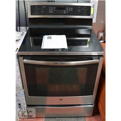 "GE 30"" FREE STANDING INDUCTION SELF CLEANING TRUE"