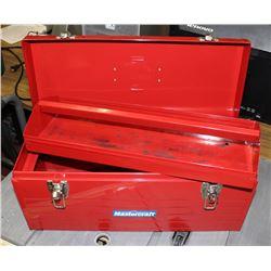 MASTERCRAFT RED TOOL BOX