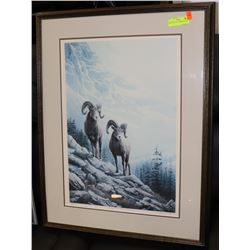 "MARLA WILSON NUMBERED PRINT ""ROCKY MOUNTAIN"