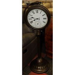 OUTDOOR COPPER COLOR CLOCK