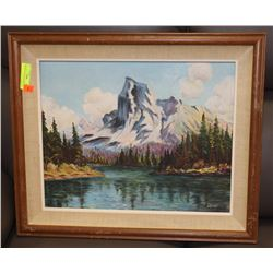 VINTAGE A.G DUFF OIL PAINTING