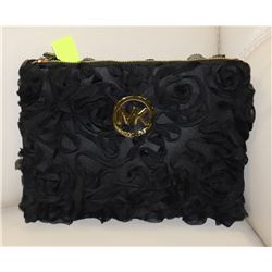 MICHAEL KORS REPLICA FLOWER PRINT PURSE BLACK