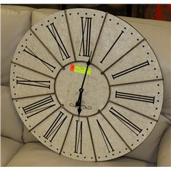 1895 WALL CLOCK, BATTERY OPERATED