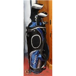 NEW CRAVE JR GOLF BAG WITH CLUBS