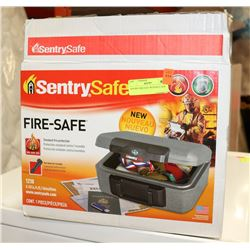 SENTRY FIRE SAFE WITH KEY NEW