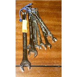 SET OF 8 CRAFTSMAN METRIC WRENCHES