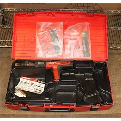 HILTI GUN IN RED CASE