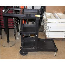 COMMERCIAL CLEANER CART