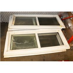 LOT OF 5 NEW WINDOWS