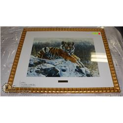 MATTHEW HILLIER KING OF THE HILL TIGER PRINT
