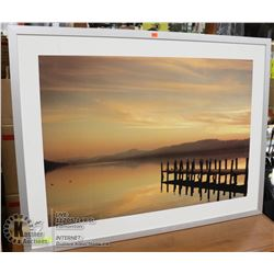 SUNSET DOCK PRINT