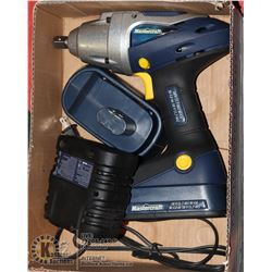 "MASTERCRAFT 18VOLT 1/2"" IMPACT DRIVER WITH"