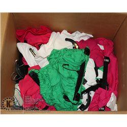BOX OF NEW CLOTHING