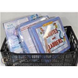 CHUTES AND LADDERS(2) AND FROZEN GAME