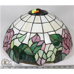 ROSE TIFFANY STYLE LAMP SHADE