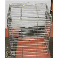 WIRE ANIMAL CAGE MEDIUM SIZE.
