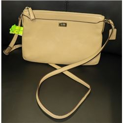 AUTHENTIC COACH PURSE TAN
