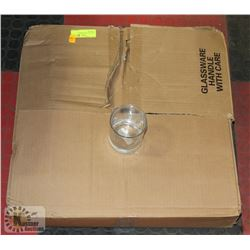 CASE OF 36 NEW HIGHBALL TUMBLERS -