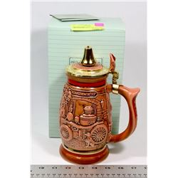 VINTAGE TRIBUTE TO FIREFIGHTERS STEIN ORIGINAL BOX