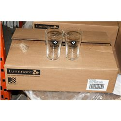 CASE OF 24 BIG ROCK BEER GLASSES 16OZ