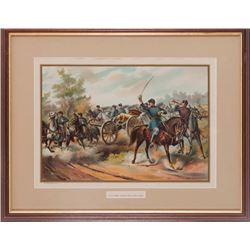 """U.S. Army-Horse Artillery-1865"" Print"