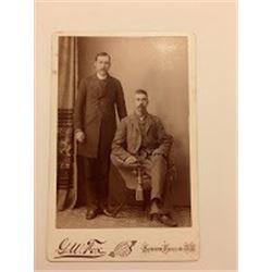 G.W Fox Sioux Falls, S.D. Cabinet Card