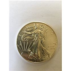 One Ounce Silver Bullion Round  Silver Eagle Walking Liberty Design Random Date 999 Pure Silver