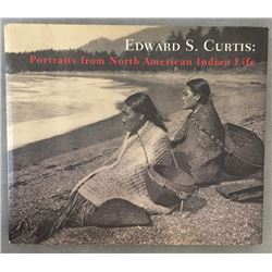 Edward S. Curtis Portraits of Native American Life Large Edition