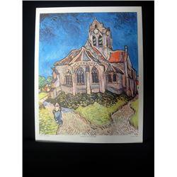 Vintage Vincent Van Gogh Prints NY. Printing House Still Life