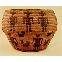 Pima Basket Early Circa 1900