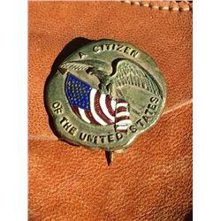 Citizenship Pin First Quarter 20th Century