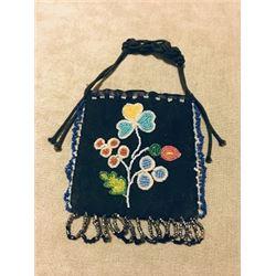 Floral Design Voucher Bag Early 20th Century