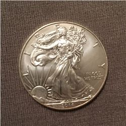 One Ounce Silver Bullion Round  Silver Eagle Walking Liberty Design Random Date 999 Pure Silver