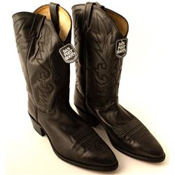 Black Dan Post Corona Boots   (49939)