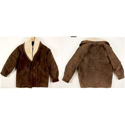 Suede Jacket for Men   (76230)