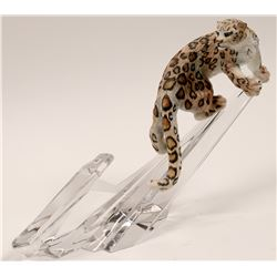 Sculpture, Snow Leopard by D.J. Shinn   (105735)
