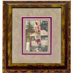 Totem Pole Post Card (Framed)   (102729)