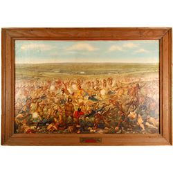"""Custer's Last Fight"" Print   (86803)"