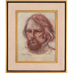Charcoal Original Art by Carol Luce   (106022)