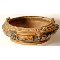 Florentine Roseville bowl.   (84416)