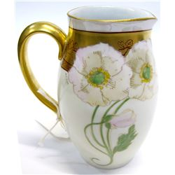 Hand Painted Pitcher, Hohenzollern China Germany   (54861)